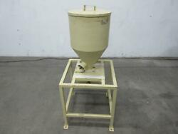 Hopper For Plastic Resin W Stand 24x15 In T105126