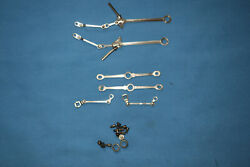 American Flyer K-5 Pacific Loco Linkage And Side Rods. Full Set. For 310312