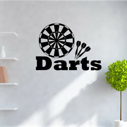 Target Darts Wall Decals Removable Wall Stickers for Kids Boys Room Nursery Wall