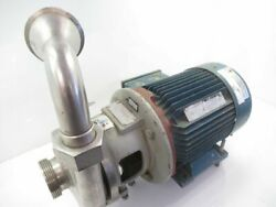 6v-85 6v85 Pump Apv Crepaco Stainless Steel Centrifugal Pump Used Tested