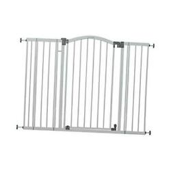 Summer Extra Tall And Wide Safety Baby Gate, 29.5 - 53 Inch Light Gray Ecom Box