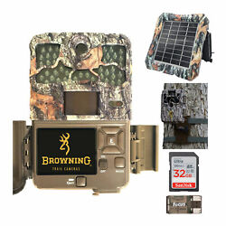 Browning Trail Cameras 20mp Recon Force Edge Trail Camera Bundle