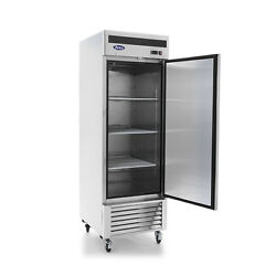 Atosa Locking Single One Door Commercial Store Restaurant Freezer On Casters Nsf