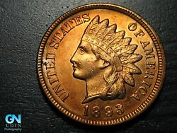 1893 Indian Head Cent Penny -- Make Us An Offer K1992