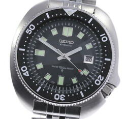 Seiko Second Diver 6105-8110 Date Automatic Menand039s Watch_597838