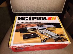 Vintage Actron Inductive Dc Clamp-on Timing Light Model L-204 Original Box