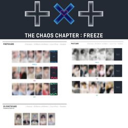 Txt - Chaos Chapter Freeze Photo Card Post Card Weverse Pre-order Benefit