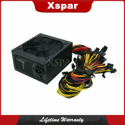 1800w Industrial Pc Power Supply Server Mining Powersupply Support 6graphic Card