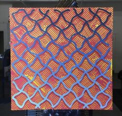 2014 Revok Signed Number Print 6/50 Extremely Rare 🔷 36x36 Inch Original Owner