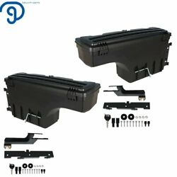 Rear Left And Right Side Truck Bed Tool Box For 2015-2018 Ford F-150 Pickup V6 V8