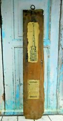 Antique Salvage Wood Shingle From Old North Church Dumont New Jersey Vtg