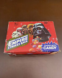 """Vintage 1980 Topps """"star Wars Empire Strikes Back""""candy - Full Original Red Box"""