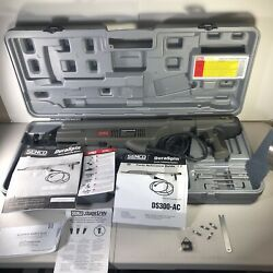 Ma6 Senco Ds300-ac Duraspin 3300 Rpm Collated Screwdriver Used W/case And Manual