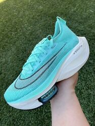 New Nike Air Zoom Alphafly Next Hyper Turquoise Running Shoes Cz1514-300 Sz 6.5