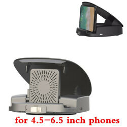 15w Wireless Fast Charger Car Phone Holder For Apple Iphone Android Cell Phone