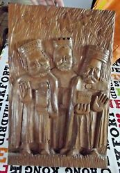 Old Reliquary Belief Religion Representation Of The Three Kings In The Nativity