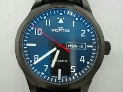 Fortis Aeromaster Pro 655.18.10lp Used Watch Automatic Winding Excellent Cond.
