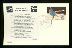 Us Fdc Ux82 Gamm Label 1980 Northbrook Il Olympics Sports Card Unofficial