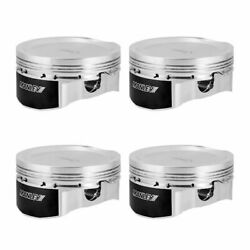 Manley Piston +rings For 90-94 Eclipse 6 Bolt 4g63t 86mm +1mm Over Bore 8.51