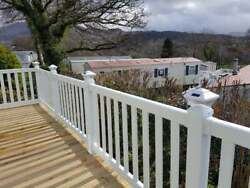 Solar Decking Post Lights To Fit A 4 Post - Ideal For Static Caravan And Lodge De