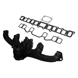 For Jeep Cj5 1972-1979 Crown Steel Natural Exhaust Manifold Kit