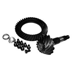 For Jeep Cherokee 01 Crown 5073013aa Rear Ring And Pinion Gear Set W Crush Sleeve