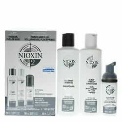 Nioxin System 2 Natural Hair Progressed Thinning Trial Kit