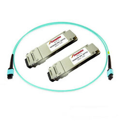 Qsfp28 To Qsfp28 100gb With Mpo 3m Cable - Kit Mmf, 850nm, 100m, Mpo, Dom