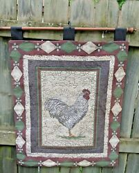Rooster Wall Tapestry Tab Rod Pocket Wall Hanging