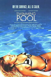 232846 Swimming Pool 2003 Movie Affiche Poster