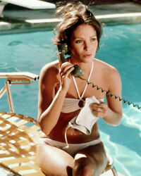 236687 Jaclyn Smith Sexy Bikini By Pool Charlies Angels Affiche Poster