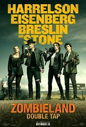 242932 Zombieland Double Tap Movie Affiche Poster