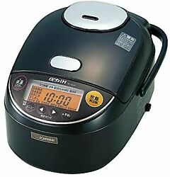 Zojirushi Rice Cooker 5.5 Go Pressure Ih Type Extremely Cooked Black Maru Thick