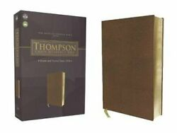 Nasb, Thompson Chain-reference Bible, Leathersoft, Brown, Red Letter, 1977 Text