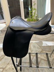 Jrd Dressage Saddle - All Black 18.5 Seat Barely Used Beautiful Condition