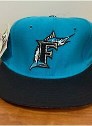 Florida Marlins Baseball Fitted Cap 6 3/4 Vintage New Era 59fifty 5950 New Usa
