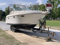 30andrsquotrailerable Wide Beam Twin Engine Cruiser 7800 Project Boat 350 Mags