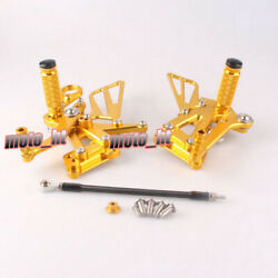 Brake Foot Pegs And Pedal Pads Fit Bmw S1000rr 2008 2009 2010 2011 2012 2013 2014