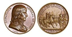 C176, France And Egypt, Br Medal By Bovy C. 1840, Napoleon I Campaign In Egypt