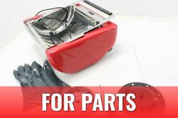 For Parts Ronco Showtime Ez Store Large Capacity Rotisserie Bbq Oven Red