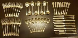 Wallace Grand Colonial 48 Piece Sterling Silver Set No Monogram 8 Settings Of 6
