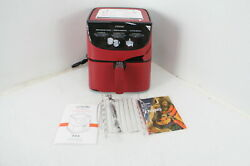 See Notes Cosori Max Xl Electric Hot Oven Oilless Cooker Led Touch Screen Red