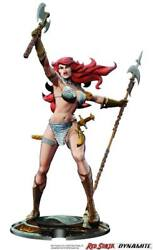 Red Sonja Statue Red Sonja 45th Anniversary By Frank Thorne Dynamite Entertainme