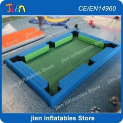 20x13ft Inflatable Billiard Court Snooker Pool Table 16pcs Balls With Air Blower