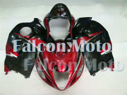 Fairing Plastic Fit For 1997-2007 98 99-07 Gsxr 1300 Abs Injection Black Red Acz