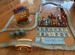 Thomas The Tank Engine And Friends Diecast Trains Tracks And Collector Card Lot