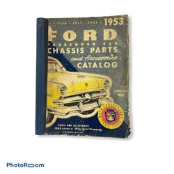 Fomoco 1949 1950 1951 1952 1953 Ford Passenger Car Chassis Parts Catalog