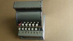 Vtg Metal Tom Thumb Working Cash Register Western Stamping Co. Free Shipping