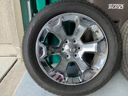 Rims And Tires For Sale. Chrome Rims, 20x9 And Bridgestone Dueler All Seasons
