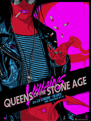 Queens Of The Stone Age Sydney 2018 2nd Night Concert Poster Art Vance Kelly